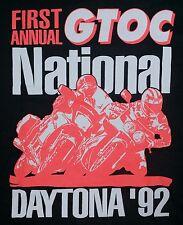 90s vtg 1st Annual Kawasaki Good Times Owners Club Daytona Motorcycle T Shirt XL