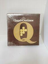 Quad-Ominos Plastic Tile Game VINTAGE 1978  by Pressman BRAND NEW SEALED