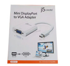 j5 create Mini DisplayPort to VGA Adapter for Audio/Video Device TV Monitor Mac