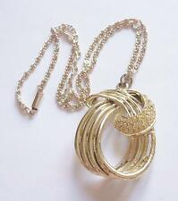 Crystal Gold Vintage Costume Necklaces