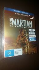 The Martian (Blu-ray Disc, 2015, 2-Disk Set, Extended Edition)