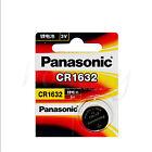 2pcs New Panasonic CR1632 ECR1632 1632 BR1632 DL1632 ECR1632 3V Battery