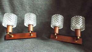 LAMPE APPLIQUE DESIGN SCANDINAVE 50/60 vintage light wall lamp mid century