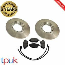 TRANSIT REAR BRAKE PADS & DISCS MK7 2.4 RWD 2.2 RWD SET DISC PAD BRAND NEW