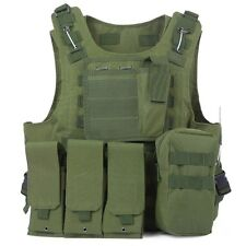 Amphibious Tactical Military Molle Waistcoat Combat Assault Plate Carrier Vest