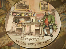 """Royal Doulton Dr. Johnson At the Cheshire Cheese Charger Plate 13-3/8"""" England~"""
