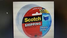 "SCOTCH SHIPPING & PACKING TAPE 3M 1.88"" X 54.6 YD. HEAVY DUTY (BRAND NEW)-1 ROLL"