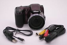 Nikon COOLPIX L820 16.0MP Digital Camera - Plum