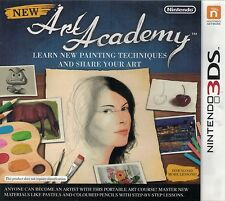 New Art Academy, Nintendo 3DS game complete, Used