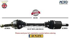 DRIVE SHAFT AXLE FITS PEUGEOT 406 1.6 1.8 1.9 2.0 HDi 1995-2004 RIGHT HAND SIDE