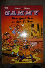 BD sammy n°29 des gorilles et des folles EO 1992 TBE berck cauvin