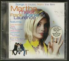 MARTHA Soundtrack CD Echo & The Bunnymen Dusty Springfield Booth & The Bad Angel