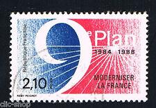 1 FRANCOBOLLO FRANCIA MODERNIZZARE LA FRANCIA 1984 usato