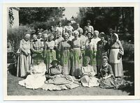 "Vintage Photo - Group of Ladies - Dressed in Vintage Clothing & Bonnets 5"" x 7"""