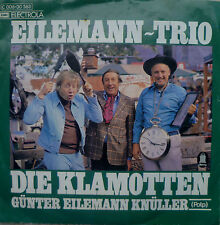 """7"""" 1974 RARE IN MINT- ! EILEMANN-TRIO : Die Klamotten"""