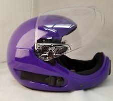 ~NEW~ PHANTOM X ~ Full Face Skydiving Helmet from SQ1~ XX LARGE PURPLE