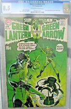 GREEN LANTERN #76 (GREEN ARROW TEAM UP BEGINS) CGC 8.5 LOOKS 9.0 HUGE DC KEY