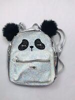 "Kensie Girl bag shoulder tote travel bag carry bookbag backpack Eyes 11"" X 8"""