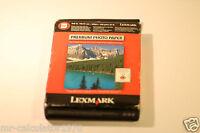 LEXMARK PREMIUM PHOTO PAPER 60 4X6 IN. 10X15cm.240 g/m 64lb