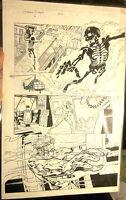 Original Comic Art UNCANNY X-MEN #406 Page #11 Marvel Comics Lopresti/Morales
