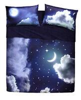 Set Lenzuola Matrimoniale Sweet Moon Imagine Paesaggi Bassetti Si illumina !!