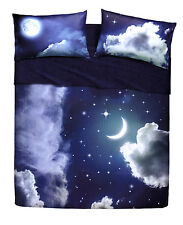 Lenzuola Bassetti Home Innovation Sweet Moon matrimoniale Luna fluorescente
