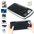 Mini 2.4Ghz Wireless & Wired Keyboard Touchpad With Mouse For PC PS4 Smart TV