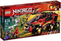 LEGO® NINJAGO 70750 Mobile Ninja-Basis - NEU / OVP