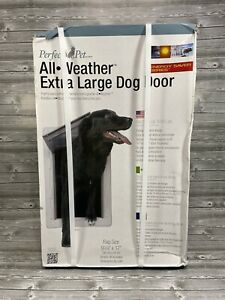 """Ideal Perfect Pet All Weather Energy Efficient Extra Large Dog Door 9-3/4"""" X 17"""""""