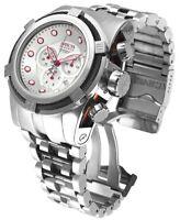 Invicta Reserve 52mm Bolt Zeus Swiss Made Quartz Chronograph Bracelet Watch NWT