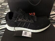 Adidas Y-3 RUNNER 4D 2 BLACK BRAND NEW