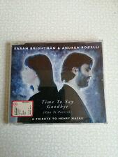 SARAH BRIGHTMAN & ANDREA BOCELLI - TIME TO SAY GOODBYE - CD SINGOLO - OTT. COND.