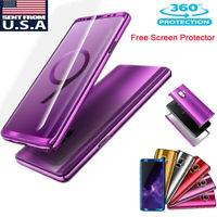 360° Mirror Shockproof Hard Case Cover For Samsung Galaxy S9/S8/S10 Plus S10e
