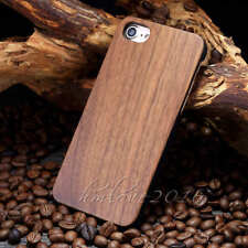 Retro Natural Wood Bamboo Wooden+PC Combo Cover Case for Apple iPhone 6 /6S Plus