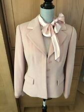Easter - Pale Pink Angora Wool Suit - Jacket - Skirt - Sweater Size 10
