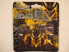 Ultra Pro MTG Magic Dual Life Counter  Elmore  Gold Dragon  OUT OF PRINT