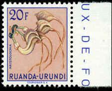 Ruanda-Urundi Scott #132 with Margin Tab Mint Never Hinged