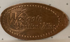 Westgate Vacation Villas Elongated Pressed Penny Copper Retired