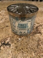 Bath And Body Works Forest Flurries 14.5oz 3wick Candle