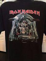 Rare Iron Maiden Aces Very High Tour Shirt Sz XL Priest Metal Ozzy Rock Slayer