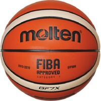 molten indoor Basketball GF7X DBB FIBA Premium Composite Leder BGF7X Größe 7