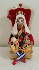 """Cloth Art Doll Sewing Pattern """"The King Of Hearts� By Suzette Rugolo"""