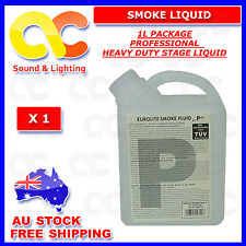 1L HEAVY DUTY MIST Smoke Haze Fluid Fog Water Base Juice Liquid 1 Litre