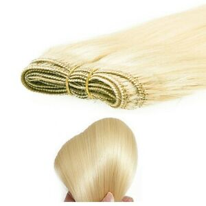 """20""""WEFT HUMAN HAIR EXTENSIONS 100G WEIGHT PURE HUMAN HAIR REMY STRAIGHT coloured"""