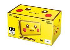 Pokemon Center Original New Nintendo 2DS LL XL Pikachu Edition pocket monster