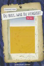 DU BIST WAS DU VERGISST - Johannes Fiebig KARTEN & BUCH-SET - NEU