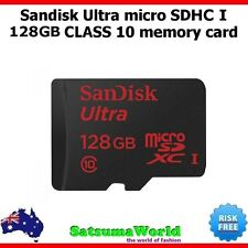 Sandisk 128GB Micro SD Memory Card Class 10 Ultra SDXC 1 Samsung HTC Canon Sony