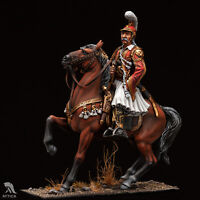 Theodoros Kolokotronis 54mm 1/32 Tin Painted Toy Soldier   Collectible Quality