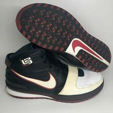 Nike Zoom Lebron 6 VI Bred Sz 14 346526-101 White Black Varsity Red South Beach