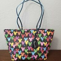 *Actual Bag* Disney Parks Dooney&Bourke 10th Anniversary Mickey Balloon Tote Bag